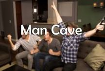 Man Cave / Every man deserves a place that can be his kick back and chill place.