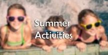 Summer Activities / Summer is what we wait for all year. But when it comes around all our fun ideas seem to disappear and we are left clueless as to what to do with the kids. Here are some of our favorite Summer Activities we found.