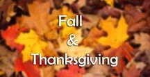 Fall & Thanksgiving / I love fall, the colors are beyond beautiful, the weather cools down, and you get to cuddle up and stay warm. Plus, fall brings that extra element called Thanksgiving - a time dedicated just to giving thanks and appreciating what you have. What could be better!?