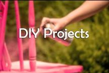 DIY Projects / If you want to save a few bucks, or want to keep yourself busy for a while- here are some DIY projects we think are worth a try!