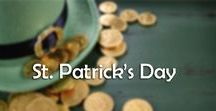 St. Patricks Day / St. Patrick's Day takes place every year on 17th March. It marks the death of St. Patrick- a prominent patron  of Ireland. Now people around the world celebrate his legacy. Let's get our Irish on!