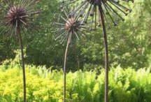creatieve tuin ideeen / Leuke ideetjes voor de tuin