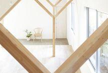 Open Plan/Green Oak Barn / ideas, moods for open plan, green oak barn conversion - want a completely open modern style, scandinavian feel.