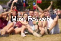 Music Festivals / The music festivals are here!!! Are you prepared??