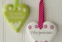 Crafties Ideas for Teachers / Fab ideas for teachers.  Beautiful handmade items we love. Get inspired #handmadegifts #crafting #teachergifts  Note: Please don't copy ideas you see here, use only to inspire to get the creative juices flowing