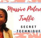 How to get massive pinterest traffic / How I Got 1.7 Million Pin Views To My Pinterest Account