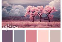 interior colour schemes / Colour palettes for interior design