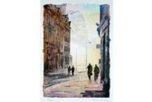 Alan Reed Art / Original Watercolours and OIl Paintings