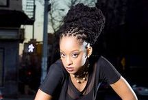 Locspirations / Inspiration for my long Locs. / by Ebony Dames