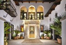 California Home / Historical Spanish Colonial Home photos.