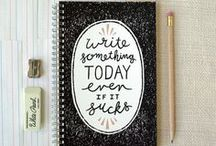 Dear Diary / Journaling ideas, free printables, doodle, zentangle, drawing ideas