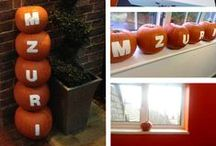 Halloween - orange is our colour! / All things orange that Mzuri Design are loving this Halloween...