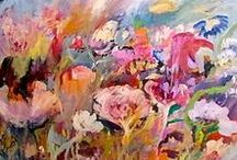 Laura Mars Artist Floral Paintings / My art work