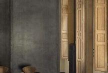 Natural & Neutral Palettes / Interior Colour Schemes using a neutral- natural palette