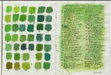 Green Palettes / Decorating with your favourite colours