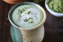 Superfood Matcha Green Tea / Make healthy green tea matcha lattes, frappes, smoothies and desserts using Caffe D'Vita's Green Tea Matcha Mix, made with real Matcha powder!
