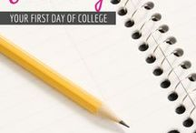 [ Off to college! ] / Advice, gift ideas, and more for students and parents!
