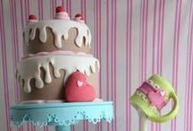 Cakes & dolciumi / Difficile capire quanto ami i dolci vero? In particolare le torte fastose, colorate, ricche, gustose e stra dolciose! Non finirò mai di pinnare mi sa!