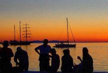 #Mykonos & #Delos #Sunsets. / #Mykonos and #Delos #islands under #breathtaking #Sunsets.