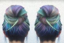 holiday hair / NOT YOUR MOTHER'S HAIR COLOR type of inspo