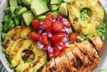 healthy meals /salads