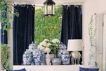 Blue home