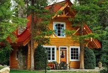 Orange cottage