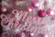 PINK...Christmas--Winter
