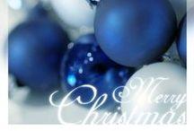 BLUE...Christmas--Winter