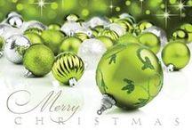 GREEN...Christmas--Winter