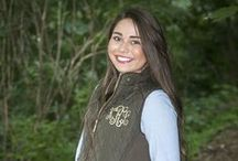 Monogram Quilted Vests / Monogram quilted vests by The Initialed Life. We offer multiple colors and sizes adult small-3X during the fall and winter months. These are great preppy fall outfits.