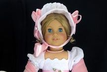 American dolls / Vintage dresses