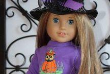 American dolls/ Halloween