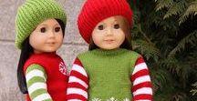 American dolls/Christmas