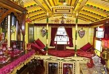 Caravan interiors