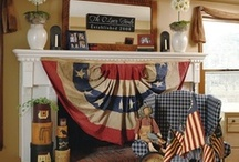 Americana for the Home / Fun finds of Americana design for the home.