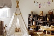 Kid's Spaces in the Home / Great ideas for kid's bedrooms, decorations and other spaces in the home.