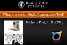 Hootsuite for Business / One of my favorite social media aggregation tools is Hootsuite, check it out. / by Michelle Post, PhD, MBA, CSMS