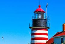Lighthouses / Lighthouses are fascinating. Buffeted by all the elements, they provide guidance and a solid foundation for those who need this.