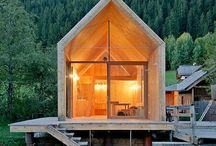 Summer House Ideas / Wooden summerhouse ideas.