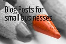 Useful Blog Posts for Small business owners / Here is a collection of blog posts based around #visual marketing