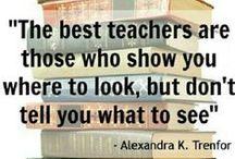Zitate / Bildungszitate, Zitate für Lehrer, Zitate über Schule, Zitate zum Lernen