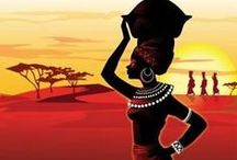African art and photographs / Best samples of african art, paintings and photographs