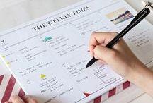 Alltag & Organisation / Ordnung, To Do-Listen, Struktur, Alltagsmanagement, Organisation