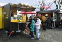 O's Impressionen / Impressionen im Streetfood. Ultra mobiler Gourment-Imbisswagen