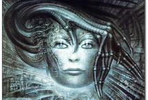 Giger - Alien / The world of Giger ...  / by Marco LivesHisDreams
