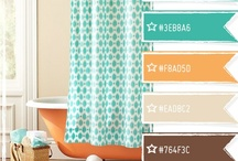 Inspirational Colors / Color palettes to add layers of emotion to home, office & beyond.