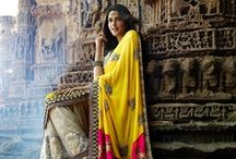 indian traditional wear  / love to be an indian. and to dream to wear these traditional dresses proudly :)