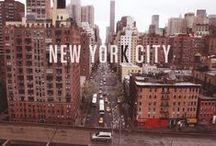 I love NY / NEW YORK NEW YORK / by Veronica Vazquez