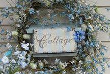 Cottage - Exterior / by Barbara Levitz